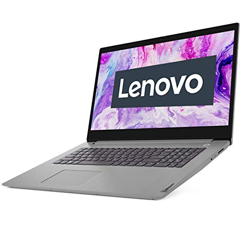 Lenovo IdeaPad 3i Laptop 43,9 cm (17,3 Zoll, 1920x1080, Full HD, WideView, entspiegelt) Slim Notebook (Intel Core i5-1035G1, 8GB RAM, 512GB SSD, Intel UHD-Grafik, Windows 10 Home) silber