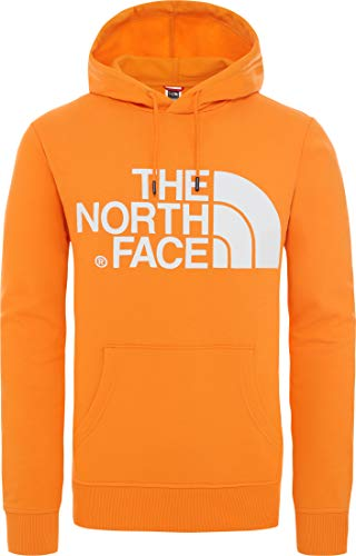 The North Face Felpa Felpa Garzata NF0A3XYD-ECL Arancione, S