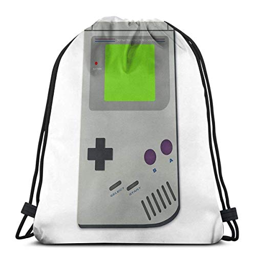 AOOEDM Boy Console Sport Sackpack Mochila con cordón Mochila de gimnasio Saco