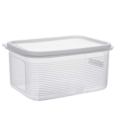 ledmomo フードストッカー 保存容器 餌入れ 密閉 湿気防止 計量カップ付き プラスチック 1.5-2.5KG大容量 犬 猫 小動物用