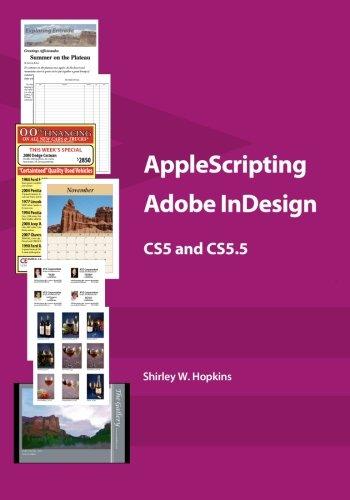 AppleScripting Adobe InDesign CS5 and CS5.5