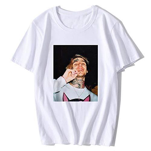 Rapper Lil Peep T-Shirt Herren Hip-Hop-T-Shirt Mit Print Für Männer