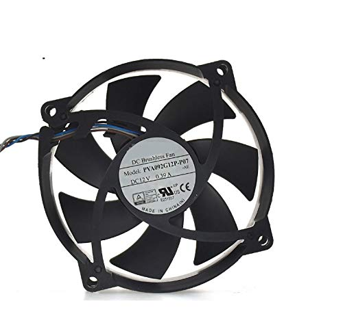 92 RTDpart Laptop CPU Cooling Fan For Foxconn PVA092G12P-P07-AE PVA092G12P-P07 PVA092G12P 12V 0.39A 92 25mm 4 wires new
