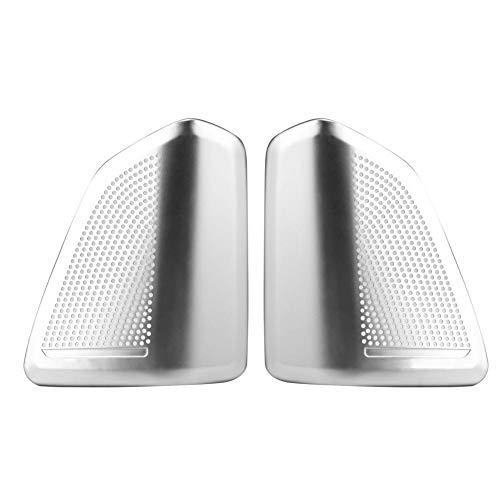 Audio luidspreker barbecue deur, stereo luidsprekerafdekkingen, autoaccessoires, styling, binnenauto, deur, stereo, audio luidspreker, decoratie, afdekking, orde voor X5 X6 F15 F16 2014-2018