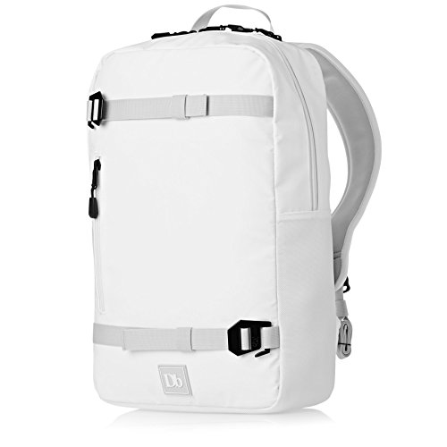 Douchebags The Scholar Backpack Rucksack, 43 cm, 15 liters, Weiß (Pure White)