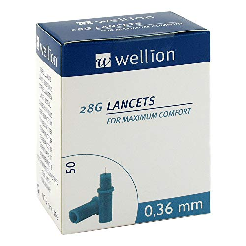 Wellion 28 G Lanzetten, 50 St