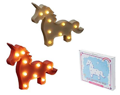 Original Lámpara plana LED decorativa - Unicornio