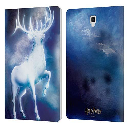 Head Case Designs Ufficiale Harry Potter Stag Patronus Prisoner of Azkaban II Cover in Pelle a Portafoglio Compatibile con Galaxy Tab S4 10.5 (2018)