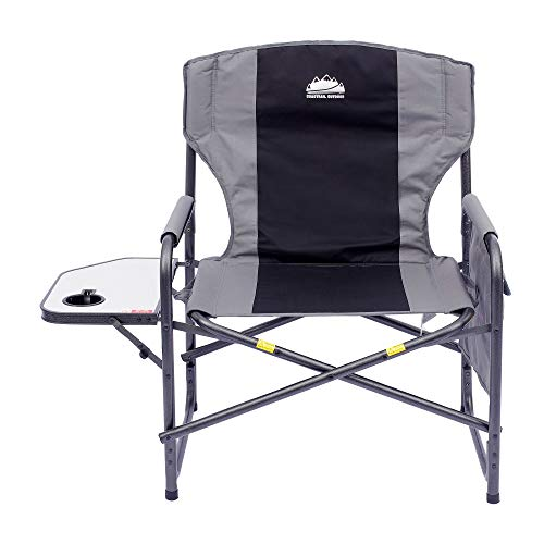 Coastrail Outdoor Oversized Director Chair With Table