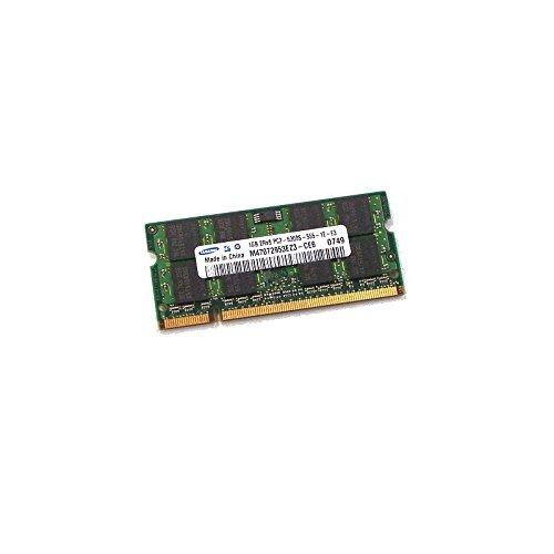 Ram PC portátil SODIMM Samsung m470t2953ez3-ce6DDR2667mhz 1GB PC2–5300S CL5
