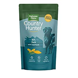 Natures Menu Country Hunter Dog Food – Duck – single 150g pouch