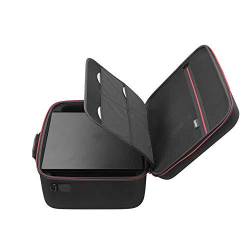 PS4 Pro ケース RLSOCO 全面保護収納バッグ PlayStation 4 pro/ps4 pro本体 、 ps4 proコントローラー、ps4 proヘッドセット、ワイヤレスリモコン、ケーブルなど対応 大容量 ぴったり収納