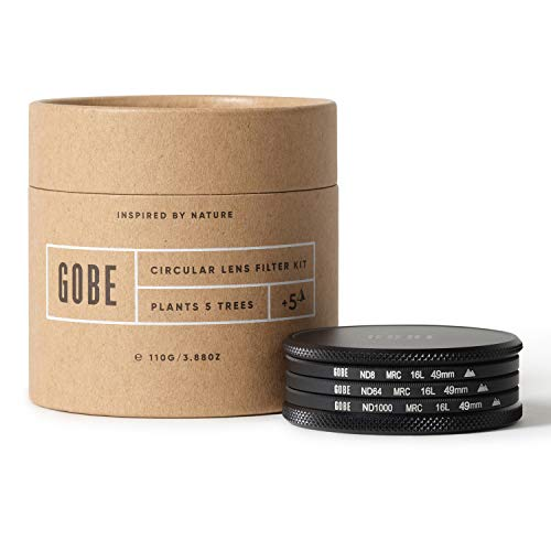 Gobe 49 mm Graufilter ND8, ND64, ND1000 - ND Filter Kit(2Peak)