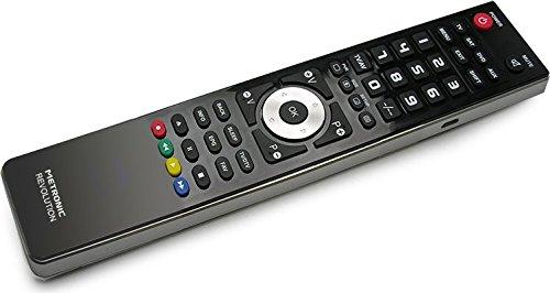 Metronic 495327 - Mando a distancia universal 4 en 1 programable mediante toma USB, negro