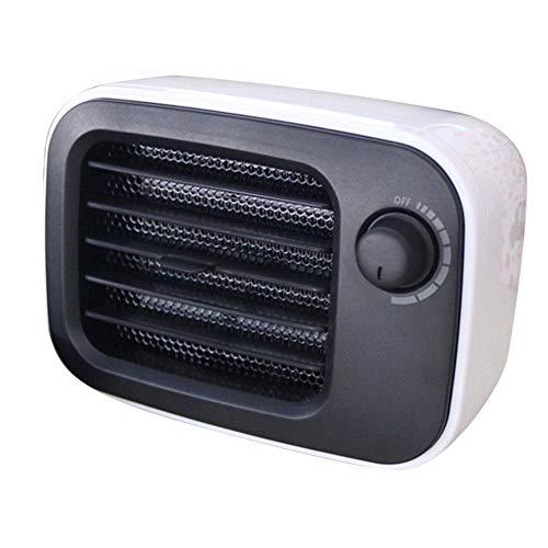 Rayber Calefacción retro, calefacción portátil, temperatura de oficina ajustable en interiores, calefacción silenciosa de bajo consumo.