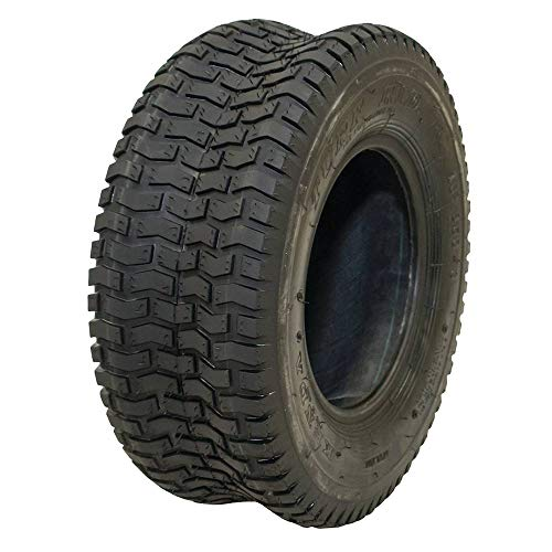 Stens 160-008 16x6.50-8 Turf Rider 2-Ply Tire , Black