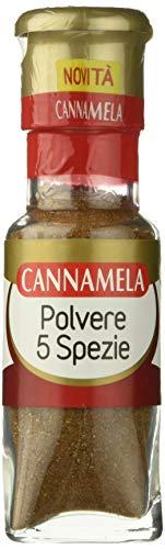 Cannamela Cinque Spezie Polvere - Pacco da 6 x 37 g