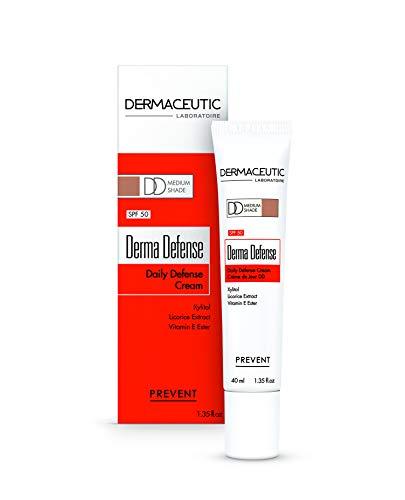 Crème Derma Defense SPF 50 teinte Médium -...