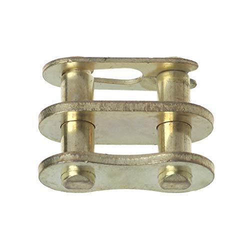 Qiman Motorrad Kettenschloss Ring Link 25H # T8F # 420# 428# 520# 530# (# 420, Gold)