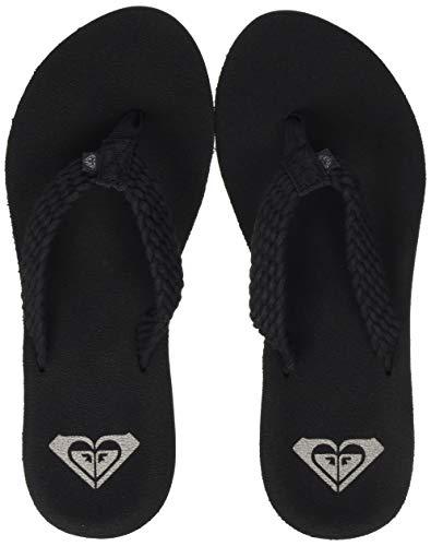 Roxy Porto, Chaussures de Plage & Piscine Femme, Noir (Black Blk), 42 EU