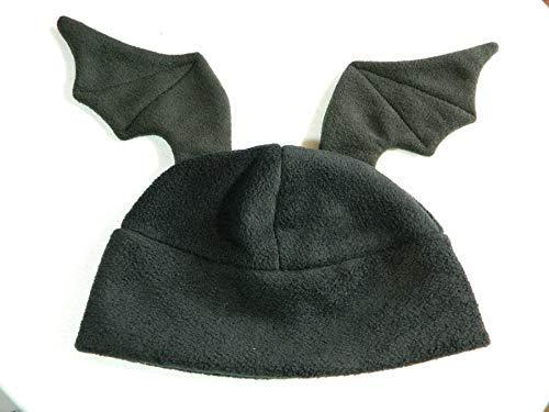 Fledermaus Flügel Mütze schwarz Gothic Punk Rock