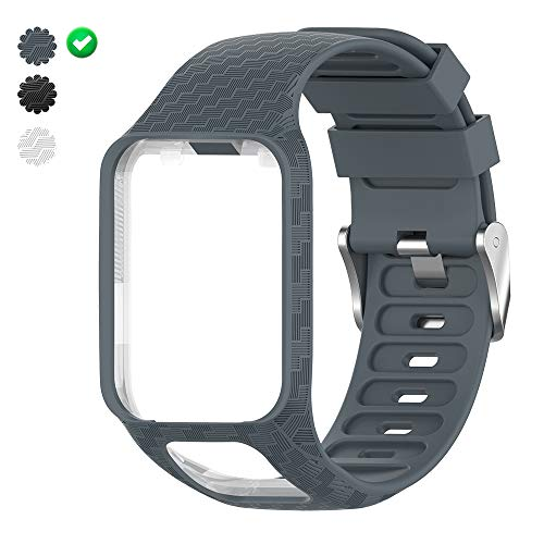 Purchase CharmingElf Band Compatible with Tomtom Spark 3/Runner 2 3/Golfer 2/Adventurer,Silicone Wat...