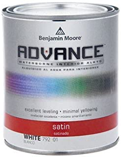 Benjamin Moore Advance Waterborne Satin Paint Quart