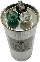 Appli Parts Dual Run Capacitor 45 + 10 Mfd uF (microfarads) 370 VAC Round 5-3/8 in High 2-1/4 in Wide CON-45/10-370-R