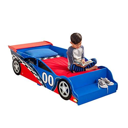 Bypaulshop Best Buy KidKraft 76040 Racecar Toddler Bed