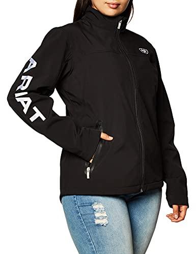 Ariat Women's Wind Softshell Jacket, Black, XXL