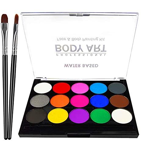 XPASSION Kit de Pintura Facial. Set de Maquillaje, Pinturas Corporales,...