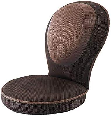 PROIDEA(プロイデア) 背筋がGUUUN美姿勢座椅子コンパクト【ブラウン】