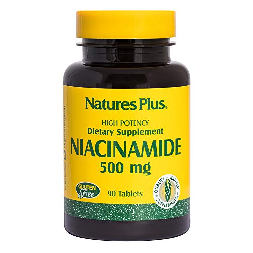 Niacinamid (Vitamin B-3) 500 mg 90 Tabletten NP