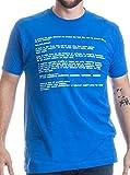 BLUE SCREEN OF DEATH Adult Unisex T-shirt / Geeky...
