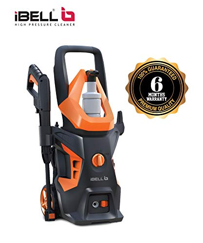 iBELL WIND55 Universal Motor 1600 Watt Pressure Washer (Black & Orange)