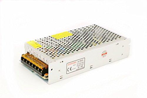 Preisvergleich Produktbild Universal Schaltnetzteil geregelter Transformator Kurzschluss und Überstromschutz AC100-260V DC5V 2A-60A