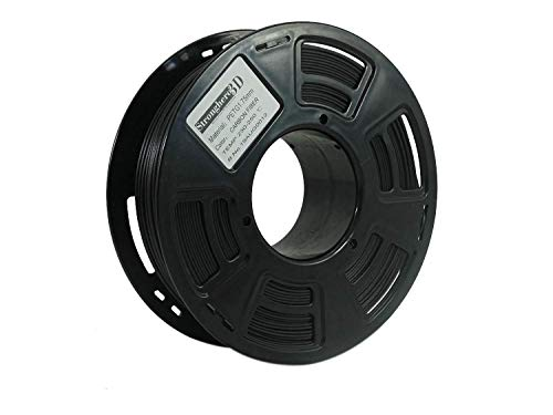 Stronghero3D PETG - Filamento para impresora 3D (fibra de carbono, 1,75 mm, 1 kg)