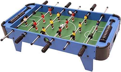 Yxxc Leichtes und tragbares Partyspiel Half Air Hockey Klappbarer Multi-Gaming-Tisch Großer Tisch-Tisch für Kinder Bobby Football Machine Spielzeugspiel Ball Brettspiel Fußball Tisch
