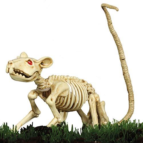 Decoración Halloween Esqueleto de Rata