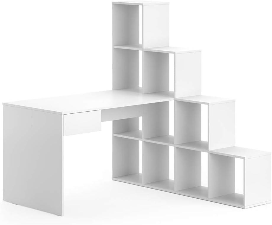 Vicco Schreibtisch Eckschreibtisch Computertisch Sarah Treppenregal Raumteiler