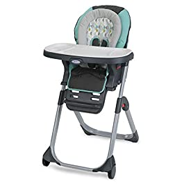 Graco DuoDiner DLX 6 in 1 High Chair | Converts to Dining Booster Seat