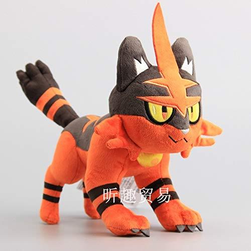 Ksydhwd Plush Toy 30cm Pokemon Pocket Monster Sun & Moon Anime Torracat Muñeco De Peluche Suave Animales De Peluche Juguetes para Regalo De Niños