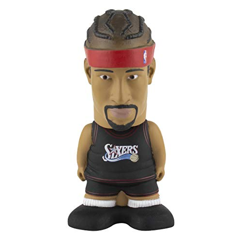 Maccabi Art Allen Iverson Philadelphia 76ers Sportzies, NBA Legends Action Figure, Toy Minifigure, Collectible Figurine - Great Gift for Basketball Sports Fans