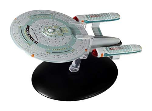 Eaglemoss U.S.S. Enterprise NCC-1701-C Collection Modell - Star Trek die Offizielle Sammlung: Ausgabe #46 mit deutschem Magazin