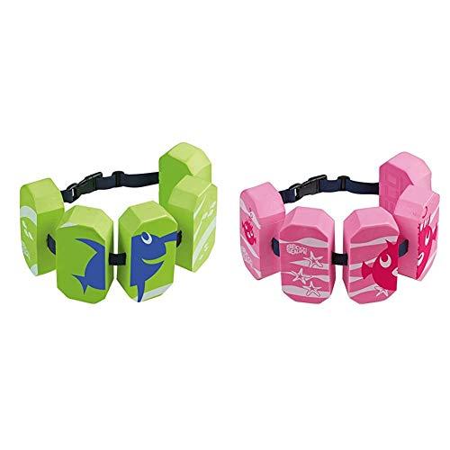 Beco 96071 4 - Schwimmgürtel Sealife, für 2-6 Jahre, 15-30 kg, pink & 96071 8 - Schwimmgürtel Sealife, für 2-6 Jahre, 15-30 kg, grün