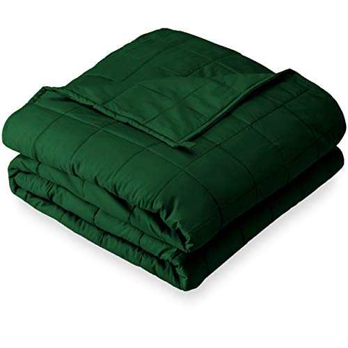 Bare Home Weighted Blanket for Adults and Kids 17lb (60' x 80') - All-Natural 100% Cotton - Premium...