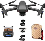 Daily Accessories Drone Foldable GPS Drone with 8K HD Camera for Beginners Mini Quadcopter...