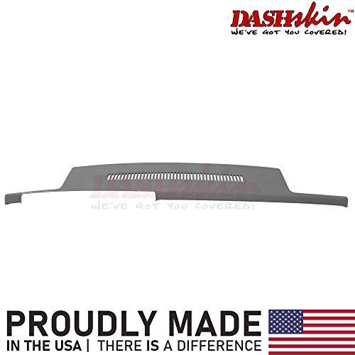 DashSkin Molded Dash Cover Compatible with 88-94 GM Trucks in Blue Grey (AKA Dark Grey)