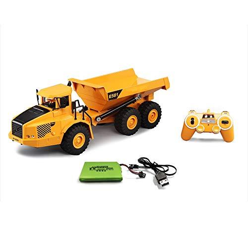 Darenbp Boy Toy Remote Control camión volquete remoto RC camiones infantiles grande...