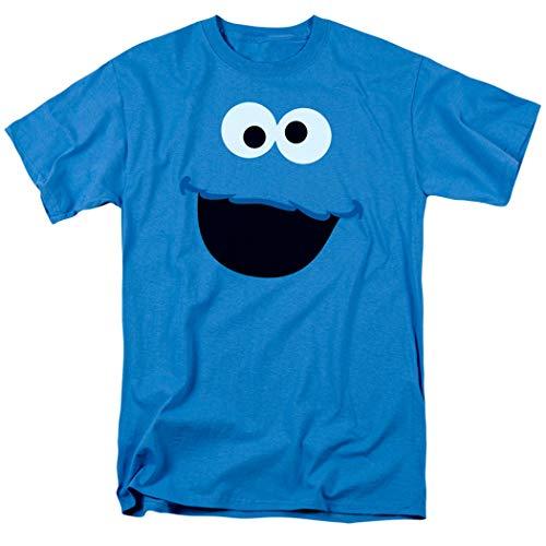 Sesame Street Cookie Monster T Shirt & Stickers (Medium)